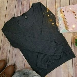 H&M Charcoal Grey Sweater